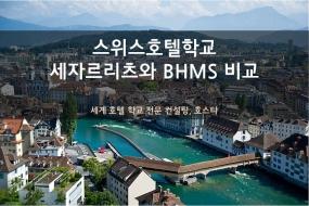 스위스호텔학교 세자르리츠와 BHMS 비교 분석!